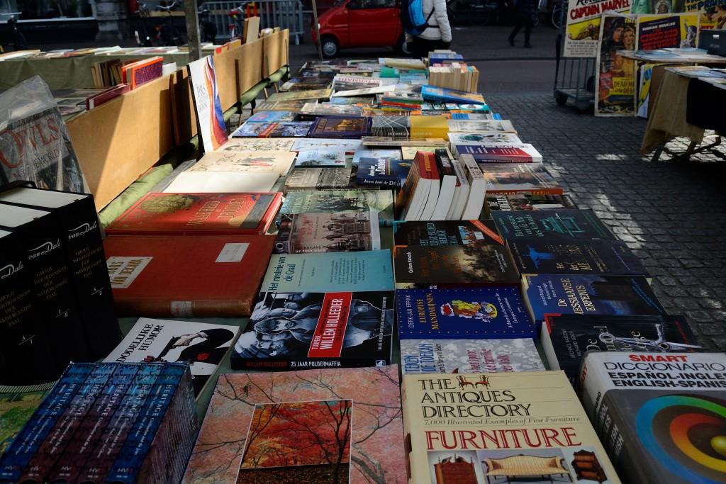 Feira de livros usados