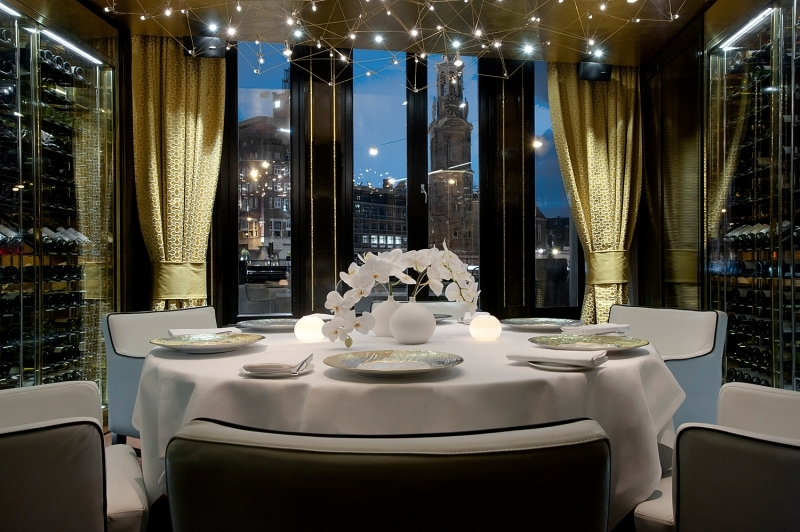 Bord'Eau Restaurant Gastronomique - Private Dining Room em Amsterdam