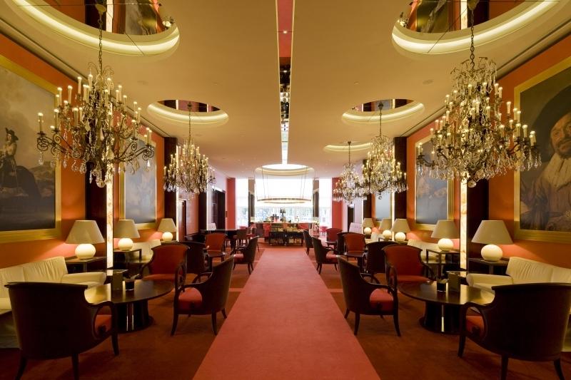 O Lobby do Hotel De L'Europe