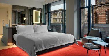 Hotel W Amsterdam perto do Dam