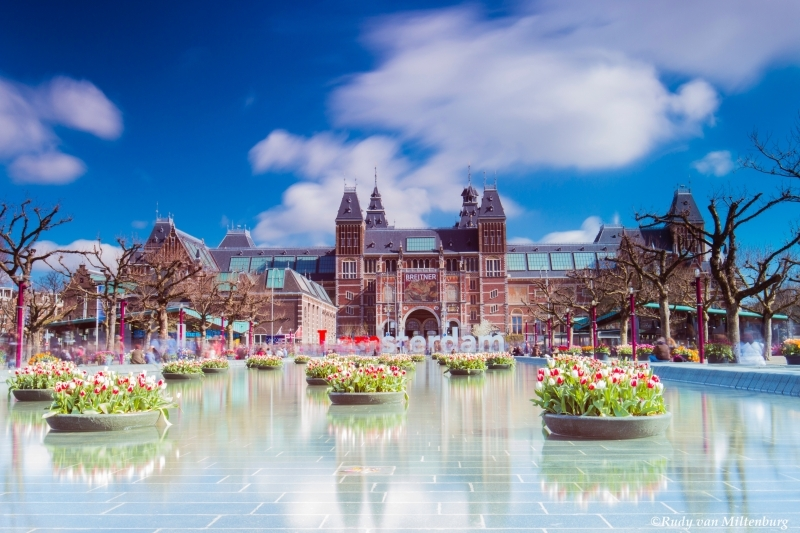 Rijksmuseum em Amsterdam
