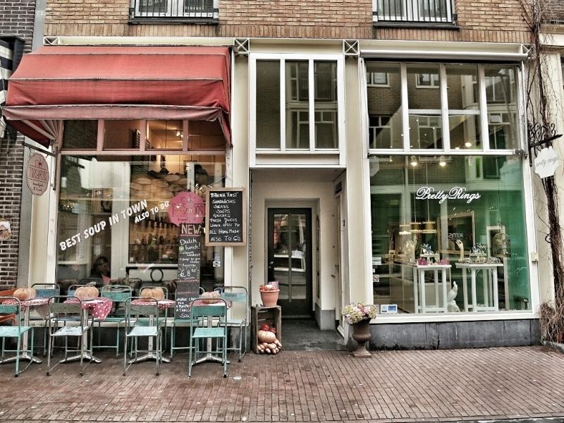Toos & Roos bem no centro de Amsterdam