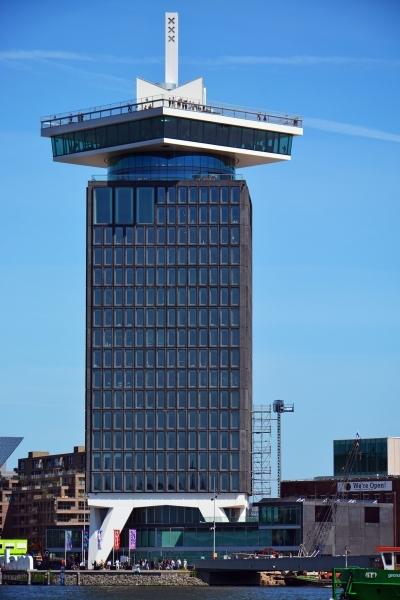 A'DAM Toren em Amsterdam com restaurante panorâmico | Foto: George Rex