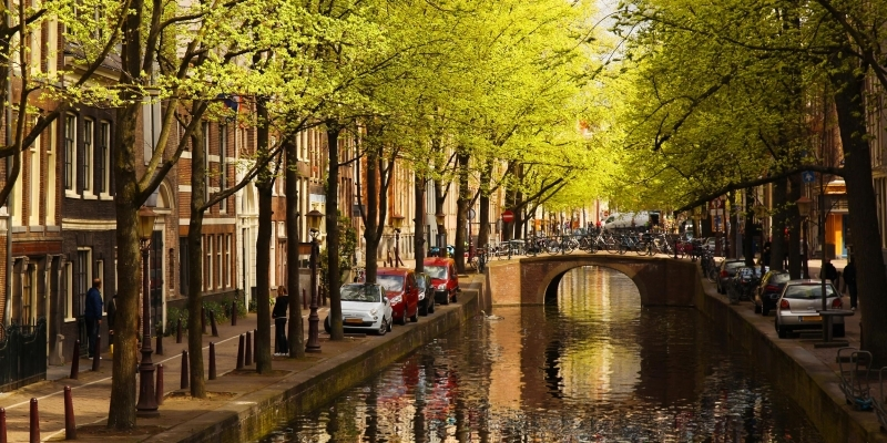 os canais mais bonitos de amsterdam