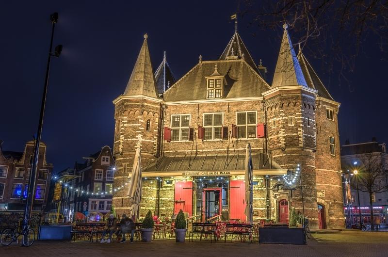 O histórico monumento Waag