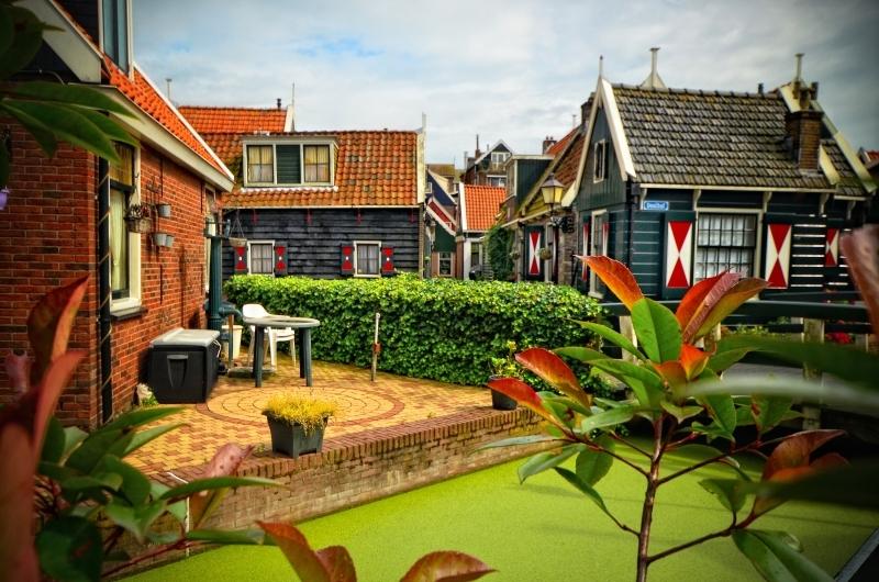 Os detalhes da Holanda em uma foto