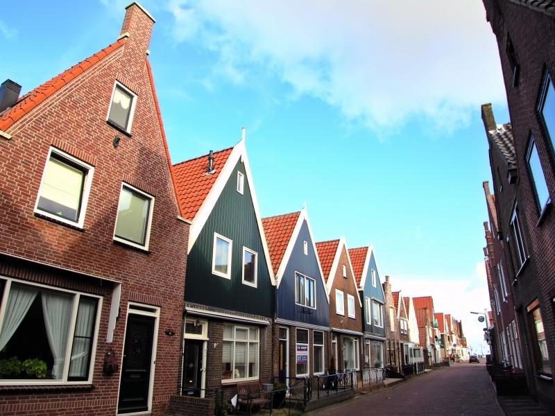 Casas típicas em Volendam