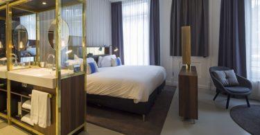O luxuoso INK Hotel em Amsterdam