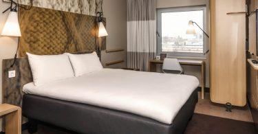 Esse quarto em Amsterdam é do ibis Styles Amsterdam City