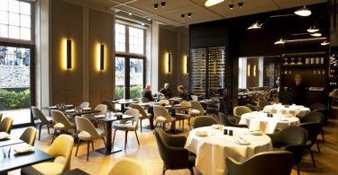 Restaurante romântico em Amsterdam Rijks
