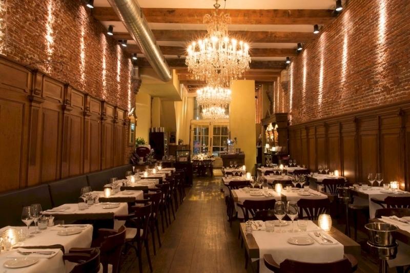 Restaurante romantico Van Speyk em Amsterdam