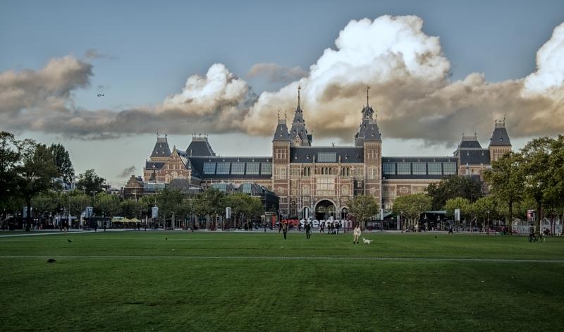 O Museumplein em Amsterdam